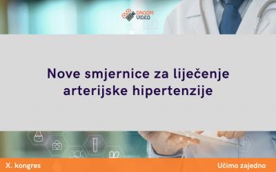 Nove smjernice za liječenje arterijske hipertenzije