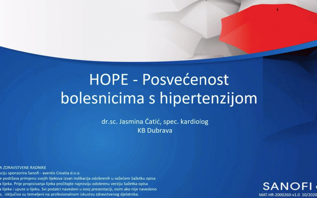 HOPE – Posvećenost bolesnicima s hipertenzijom